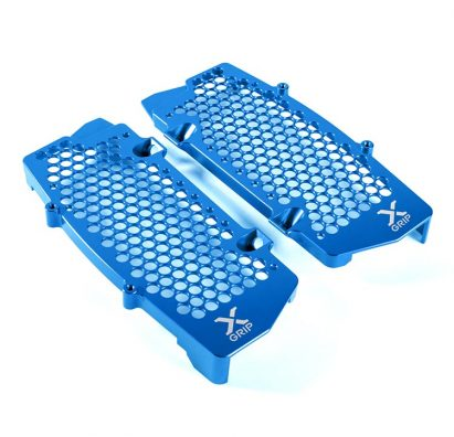 Radiator guard set blue